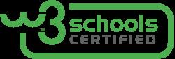 SchoolsW3 Certification